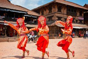 Newari culural dance, bhaktapur