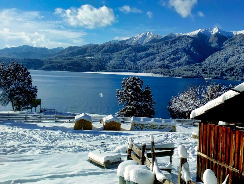 Stunning view of Rara Lake Trek