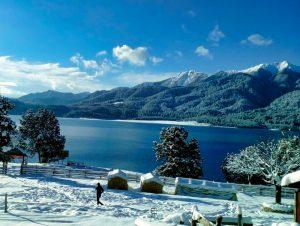 white snow at Rara Lake