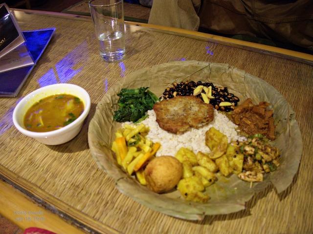 Special Newari meal
