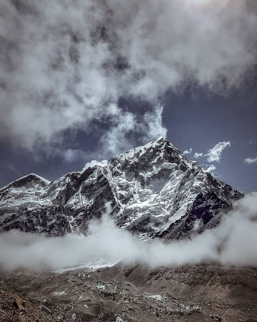 Dramatic View During Everest Base Camp (EBC)