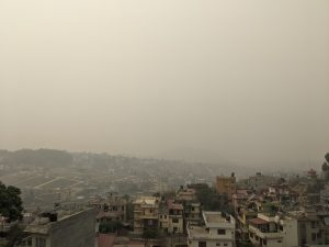 pollution in kathmandu