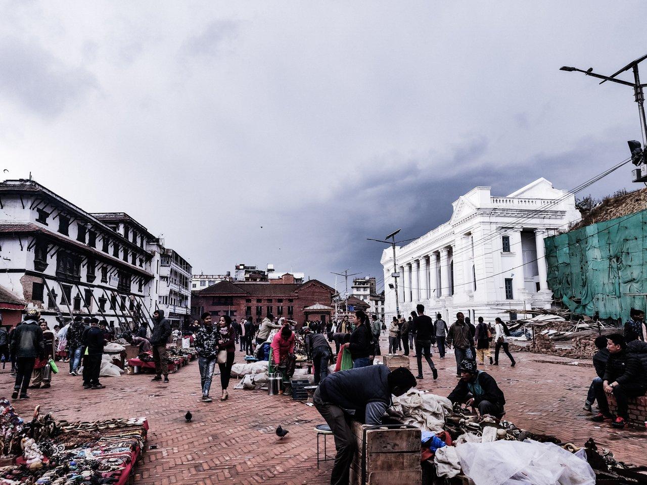 Historical Palace of medieval Malla King in Kathmandu